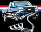 AMERICAN-RACING-1-3-4-X-3-HEADERS-CATTED-Y-PIPE-99-06-GM-FULL-SIZE-TRUCK