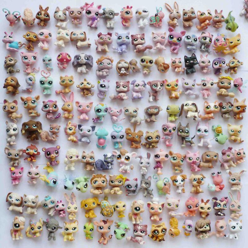 Lot Of 15 Pcs Littlest Pet Shop Figure Ds2 Ebay