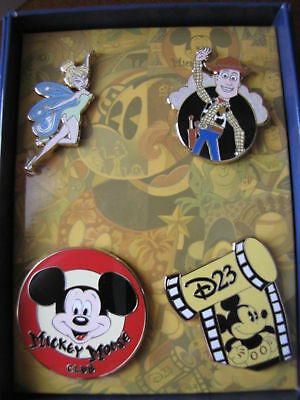 Disney Store D23 2010 Membership Exclusive Tinker Le Pin Set