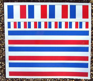 V lo de route fran ais drapeau cadre stickers autocollant for Autocollant mural francais