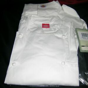 Dickies Mens Grand Master Chef Coat - White