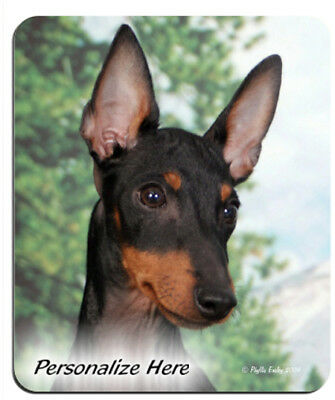Manchester  Terrier   ( 1 )    Personalized   MousePad