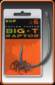 ESP-BIG-T-Carp-Hooks-Barbed-All-sizes-PAY-1-POST