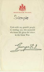 WW1-KINGS-LETTER-FOR-A-BRITISH-MEMORIAL-PLAQUE-MEDAL