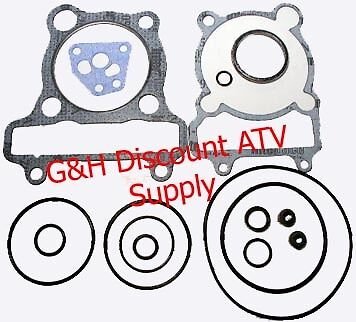 Yamaha YTM 225 DR DX YTM225 Tri-Moto Engine Motor Top End Gasket Kit Valve Seals