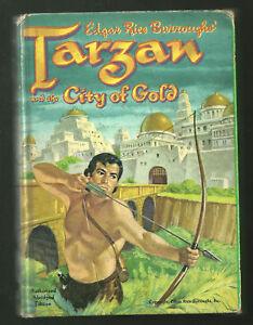 Tarzan-City-of-Gold-TV-HB-book-1965-Whitman-RARE