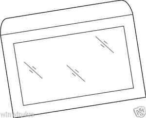 10 x 13 white kraft full view window envelopes 500 ctn ebay for 10 x 13 window envelope