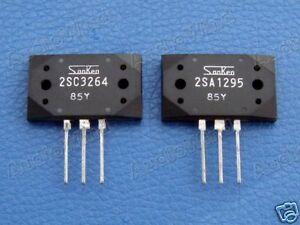 2SA1295 & 2SC3264 Original SANKEN Transistor, x 10 PCS