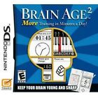 Brain Age 2: More Training in Minutes a Day (Nintendo DS, 2007) - European Version
