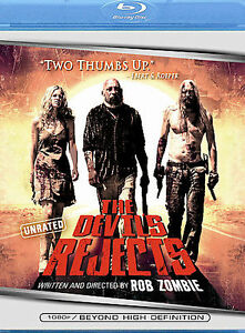 The Devils Rejects Blu Ray Disc 2006 Unrated Edition