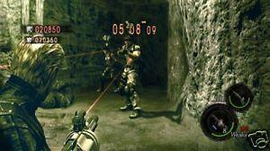 How to Navigate the Resident Evil 5 VS Mode Menus