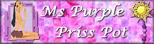 Ms Purple Priss Pot
