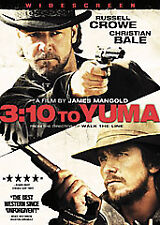 3:10 to Yuma Christian Bale Russell Crowe Western NEW DVD Preview Below