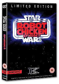 Robot Chicken  Star Wars Episode 2 DVD 2009 - <span itemprop=availableAtOrFrom>N.ireland, United Kingdom</span> - Robot Chicken  Star Wars Episode 2 DVD 2009 - N.ireland, United Kingdom