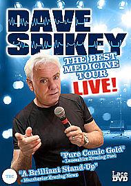 Dave Spikey - Best Medicine Tour Live  DVD***NEW***