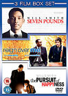 Seven Pounds / Reign Over Me / The Pursuit Of Happyness (DVD, 2009, 3-Disc Set, Box Set)