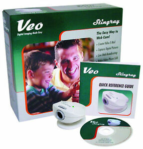 stingray software Veo webcam