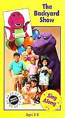 Barney - The Backyard Show (VHS, 1988) for sale online | eBay