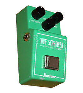 Ibanez TS808 Overdrive Guitar Effect Ped...