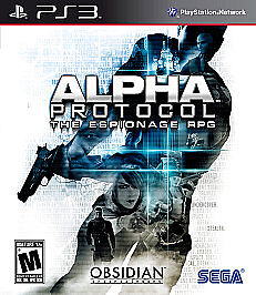 Alpha Protocol  (Sony Playstation 3, 201...