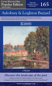 Aylesbury-and-Leighton-Buzzard-Cassini-Popular-Edition-Historical-Map-VARIOUS