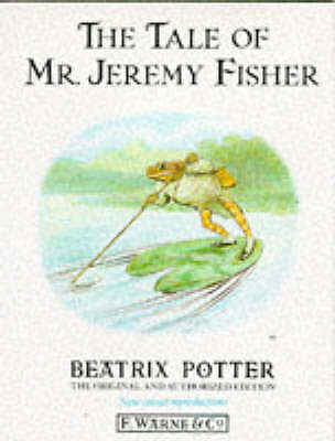 """""""AS NEW"""" The Tale of Mr. Jeremy Fisher (The Original Peter Rabbit Books), Potter"""