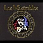 Les Miserables [Relativity Complete Symphonic Recording] [ECD] by Original Cast (CD, May-1990, 3 Discs, Relativity)