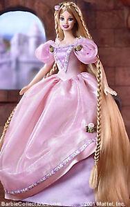barbie as rapunzel 2002 doll