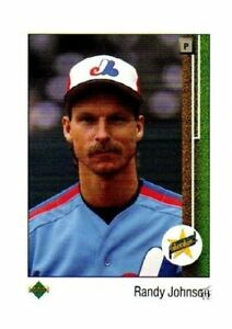 1989 Upper Deck Randy Johnson Montreal Expos 25 Baseball Card