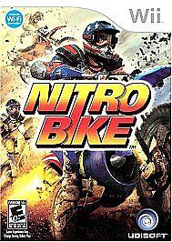 Nitrobike (Nintendo Wii, 2008)  *complete w/ case & instructions*