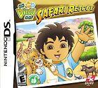 Go, Diego, Safari Rescue Nintendo DS Video Games