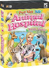 Pet Vet 3d Animal Hospital Down Under Pc Game Windows Vista