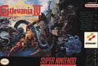 Super Castlevania IV (Super Nintendo Entertainment System, 1991)