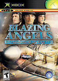 Blazing-Angels-Squadrons-of-WWII-Xbox-RARE-Game-Fun