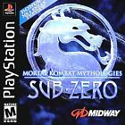 Mortal Kombat Mythologies: Sub Zero (Sony PlayStation 1, 1997)