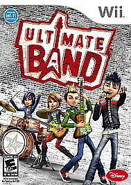 Ultimate Band Wii Game Fantastic Condition Nintendo Wii, 2008  - $0.99
