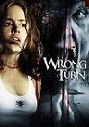 Wrong Turn (DVD, 2003, Dual Side Lenticular)