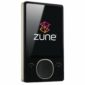 Microsoft Zune 80 Black ( 80 GB ) Digita...