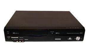 Panasonic DMR-EZ47V DVD/VHS Recorder, TUNER 1080P Refurbished to Factory spec.