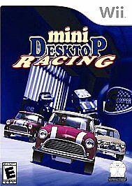 Mini Desktop Racing (Nintendo Wii, 2007) NEW