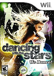DANCING-WITH-THE-STARS-WE-DANCE-rare-Wii-GAME-COMPETITIVE-DANCING