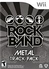 Rock Band Track Pack: Metal  (Wii, 2009) (2009)