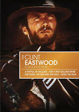 Clint Eastwood Collection  Fistful Few Dollars More Good Bad Ugly Hang High  new