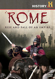 DVD: Rome: Rise and Fall of an Empire, History Channel. Good Cond.: n/a