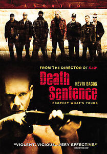 Death Sentence DVD, 2009, Rated Unrated Footage  - $1.50