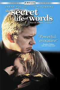 The-Secret-Life-of-Words-DVD-2007-RARE-TIM-ROBBINS-BRAND-NEW