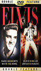 Elvis - Rare Moments with the King/ King of Entertainment (DVD, 2002)