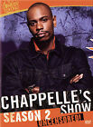 Chappelles Show - Season 2 Uncensored (DVD, 2005, 3-Disc Set, Checkpoint)