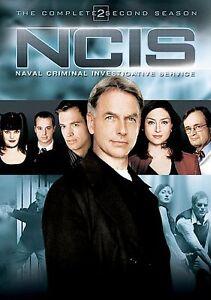 NCIS Naval Criminal Investigative Service - The Complete Second Season, New DVD,