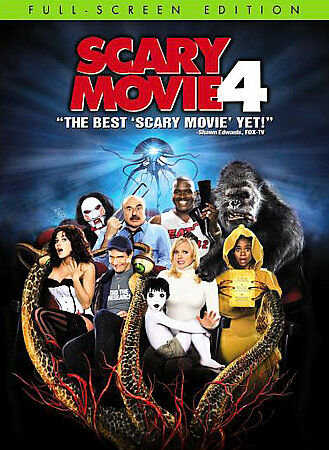 Scary Movie 4 (DVD, 2006) BRAND NEW AND FACTORY SEALED UNOPENED